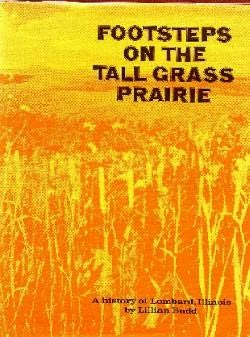 book cover of Footsteps on the Tall Grass Prairie