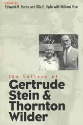 book cover of The Letters of Gertrude Stein and Thornton Wilder