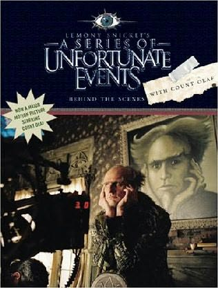 book cover of Behind the Scenes with Count Olaf by Lemony Snicket