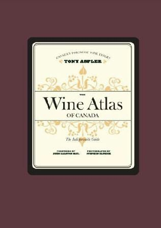 book cover of The Wine Atlas of Canada