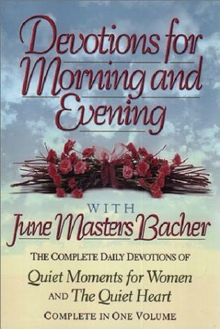 book cover of Devotions for Morning and Evening