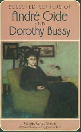 book cover of Selected Letters of Andre Gide and Dorothy Bussy