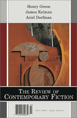 book cover of The Review of Contemporary Fiction