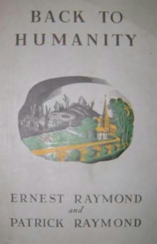 book cover of Back to Humanity