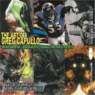 book cover of The Art of Greg Capullo