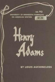 book cover of Henry Adams