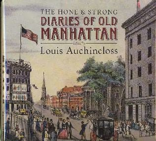 book cover of The Hone and Strong Diaries of Old Manhattan