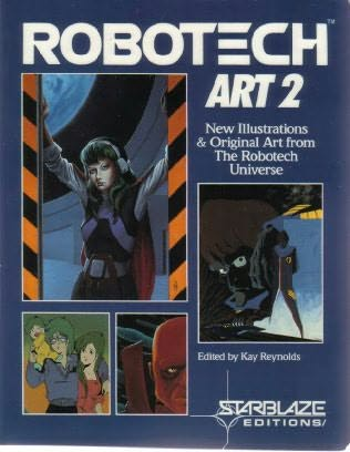 book cover of Robotech Art 2