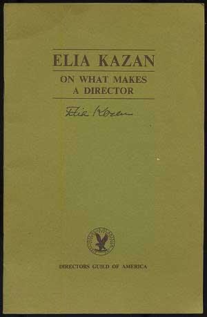 book cover of On What Makes a Director