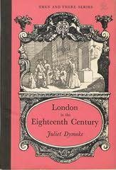 book cover of London in the Eighteenth Century