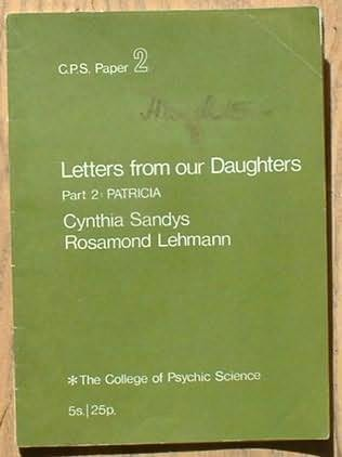 book cover of Letters from Our Daughters: Patricia