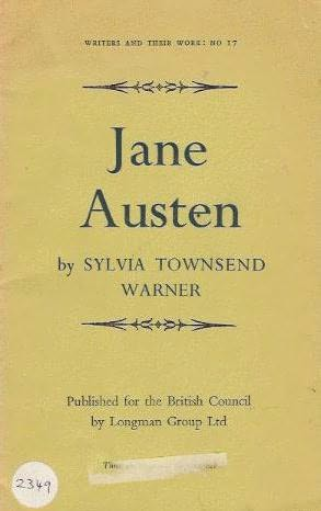 book cover of Jane Austen