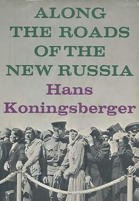 book cover of Along the Roads of the New Russia