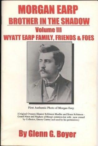 book cover of Morgan Earp