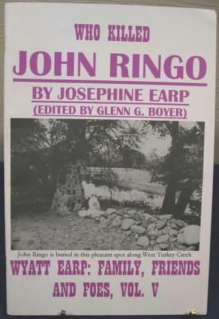book cover of Who Killed John Ringo?