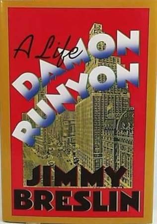 book cover of Damon Runyon
