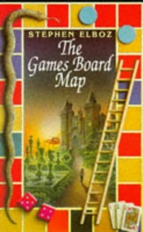 book cover of Games Board Map