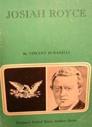 book cover of Josiah Royce