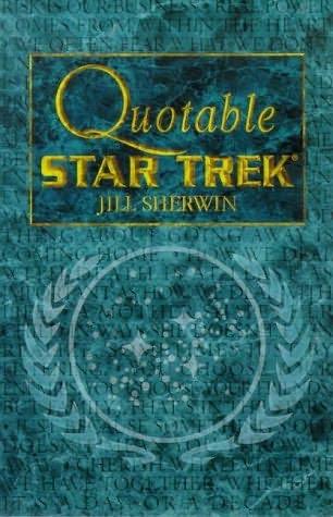 book cover of Quotable Star Trek