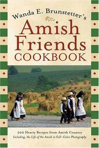 book cover of Wanda E. Brunstetter\'s Amish Friends Cookbook