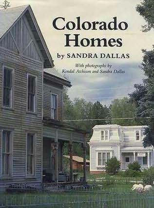 book cover of Colorado Homes