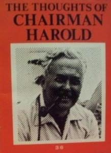 book cover of The Thoughts Of Chairman Harold