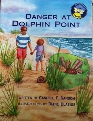 book cover of Danger At Dolphin Point