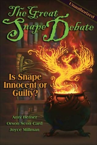 book cover of The Great Snape Debate
