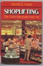 book cover of Shoplifting