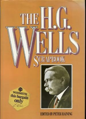 book cover of The H. G. Wells Scrapbook
