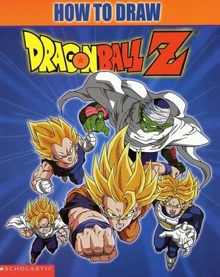 book cover of How to Draw Dragonball Z by Michael Teitelbaum