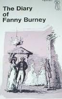 book cover of The Diary of Fanny Burney