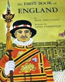 book cover of The First Book of England