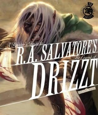book cover of Reader\'s Guide to the Legend of Drizzt