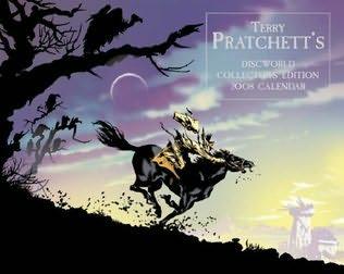 book cover of Terry Pratchett\'s Discworld Collector\'s Edition Calendar 2008