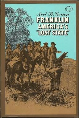 book cover of Franklin, America\'s Lost State