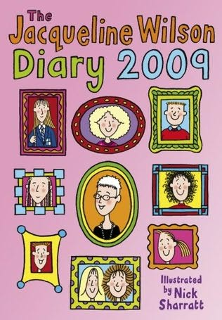 book cover of Jacqueline Wilson Diary 2009