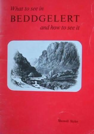 book cover of What to See in Beddgelert and How to See It