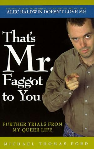 book cover of That\'s Mr. Faggott to You