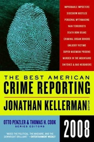 book cover of The Best American Crime Reporting 2008