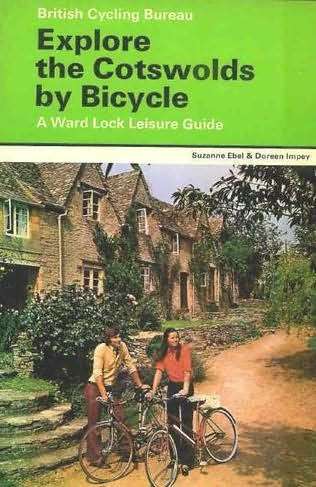 book cover of Explore the Cotswolds By Bicycle