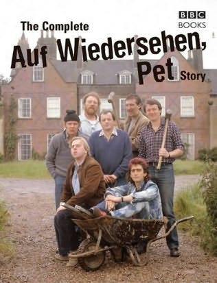 book cover of The Auf Wiedersehen Pet Story That's Living Alright by Dan