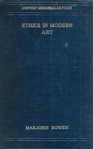 book cover of Ethics in Modern Art