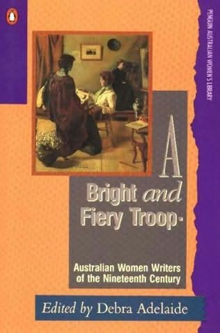 book cover of A Bright and Fiery Troop