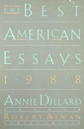 the best american essays of 2008