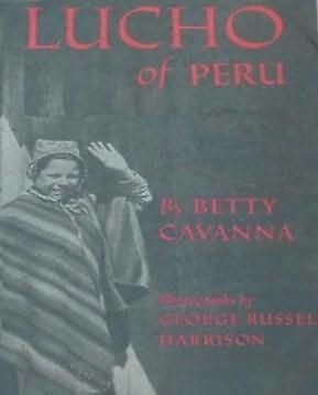 book cover of Lucho of Peru