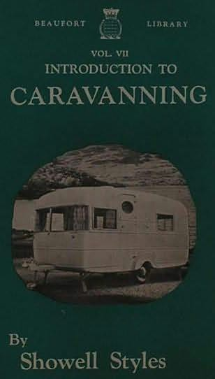 book cover of Introduction to Caravanning