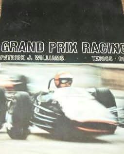 book cover of Grand Prix Racing