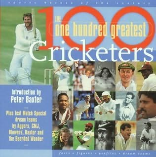 book cover of 100 Greatest Cricketers