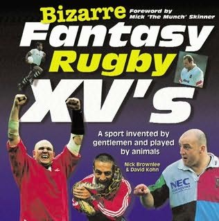 book cover of Bizarre Fantasy Rugby XV\'s